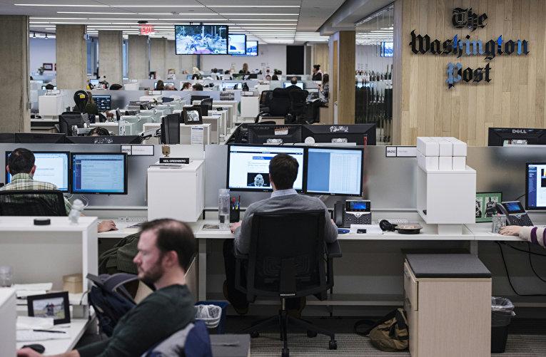 Редакция газеты The Washington Post в Вашингтоне, США