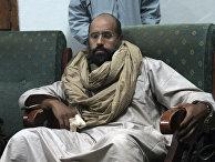 Сын Муаммара Каддафи Сеиф аль-Ислам