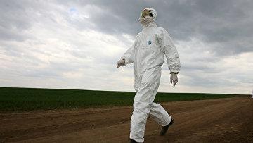 Учения по профилактике свиного гриппа в Татарстане