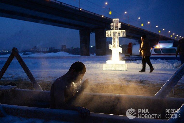 Праздник Крещения Господня в регионах России