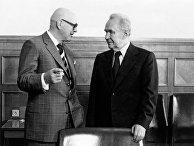 Председатель Совета Министров СССР А.Н.Косыгин и Президент Финляндии Урхо К.Кекконен