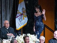 Постоянный представитель США при ООН Никки Хейли на ежегодном благотворительном обеде