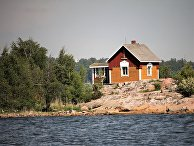 Деревянный домик в Финляндии