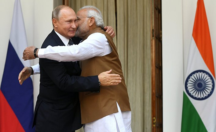 Официальный визит президента РФ В. Путина в Индию. День второй