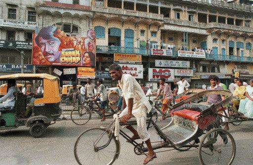Улица в Нью-Дели