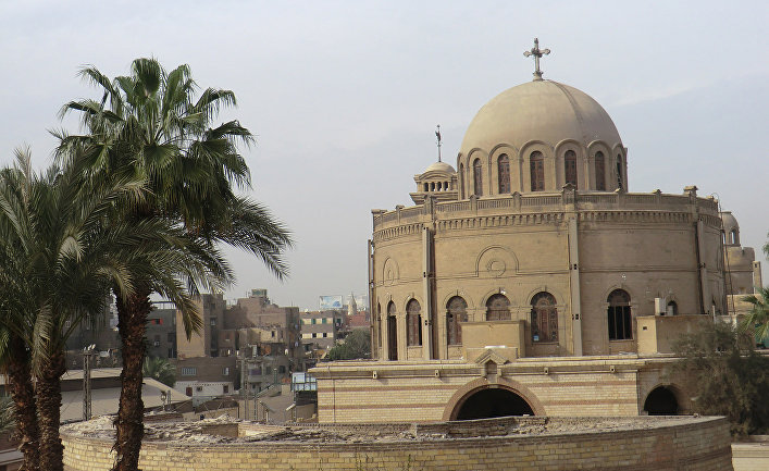Коптские церкви Каира, квартал Мэри Гиргис