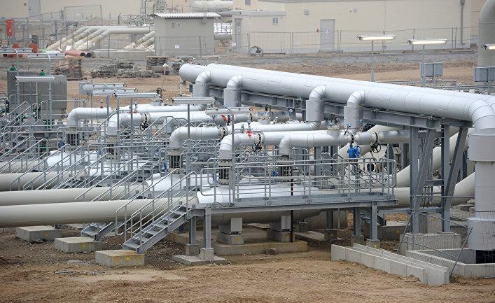 Открытие газопровода «Северный поток» в Германии
