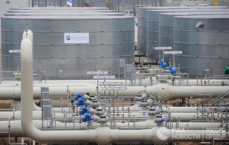 """Открытие газопровода """"Северный поток"""" в Германии"""