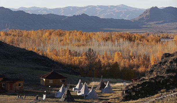 Этнокультурный коплекс Алдын-Булак в Тыве