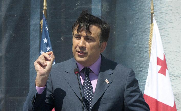 Президент Грузии М. Саакашвили