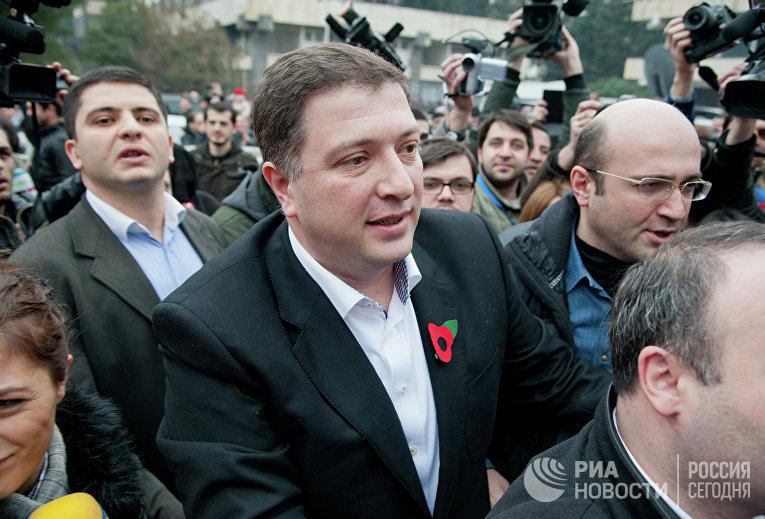 Бывший мэр Тбилиси Георгий Угулава