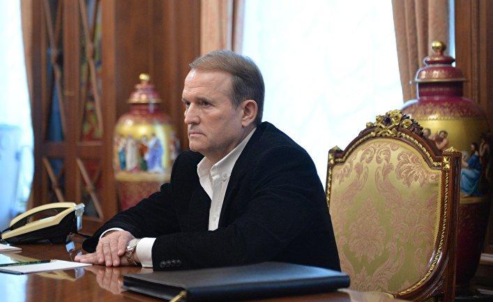 """Лидер движения """"Украинский выбор"""" Виктор Медведчук"""