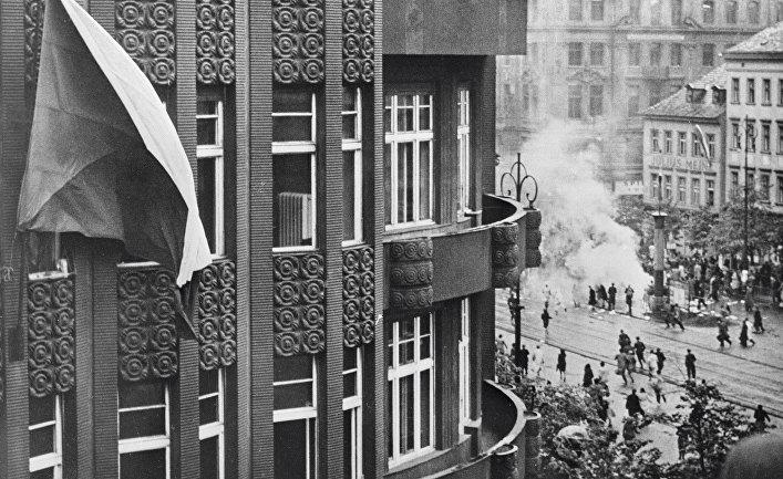 Прага 9 мая 1945 года