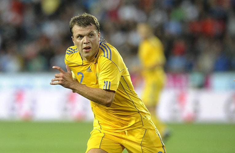 Футболист сборной Украины Алексей Гай
