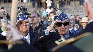 Ветераны Второй мировой войны, участвовавшие в высадке в Нормандии