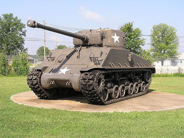 «Шерман», основной американский средний танк периода Второй мировой войны