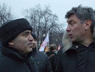 Гарри Каспаров и Борис Немцов