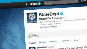 Госдеп США создает в Twitter микроблоги на китайском, русском и хинди