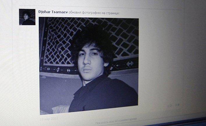 Один из подозреваемых во взрывах в Бостоне Джохар Царнаев