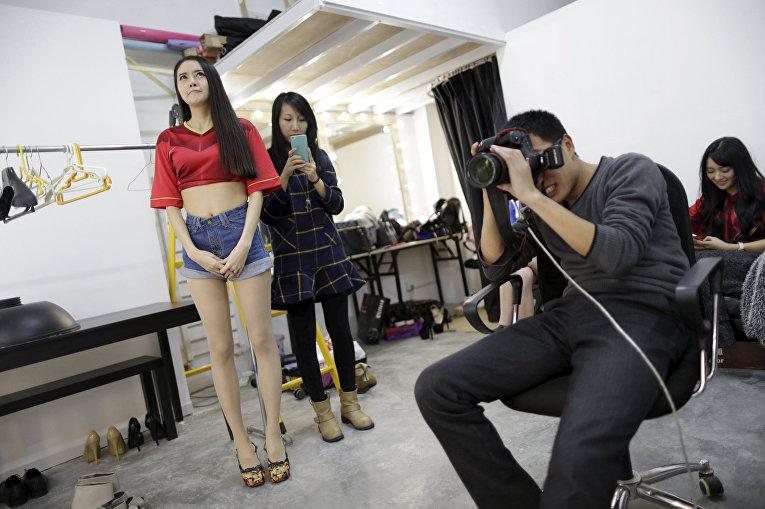 Сянгун, хостес сайта bobo.com