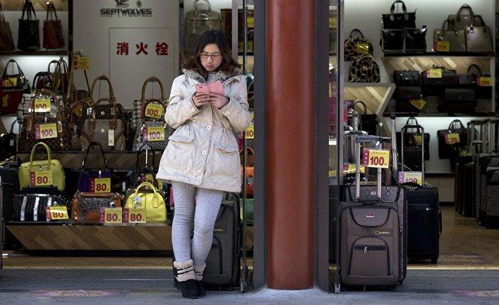 Магазин сумок в Пекине