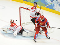 Олимпиада - 2010. Хоккей. Четвертьфинал. Россия - Канада