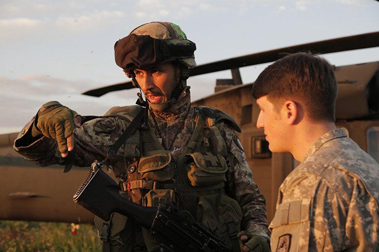 Учения НАТО в Латвии