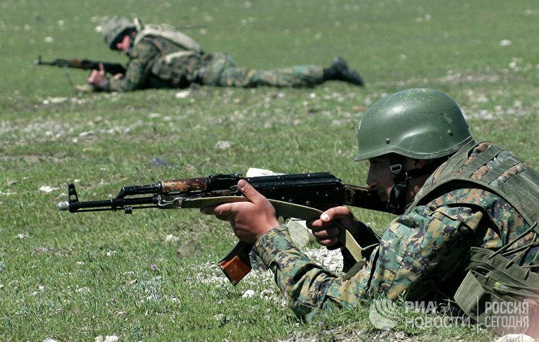 Учения НАТО Cooperative Longbow 09/Cooperative Lancer 09 завершаются в Грузии