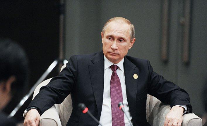 Владимир Путин принимает участие в саммите G20 в Турции