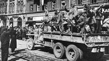 Советские войска в Праге