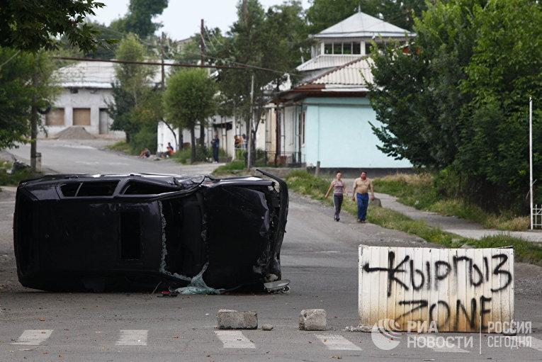 Обстановка в Джалал-Абадской области Киргизии