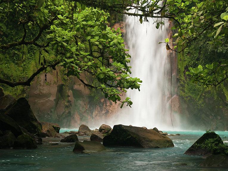 Водопад в Коста-Рике, Центральная Америка