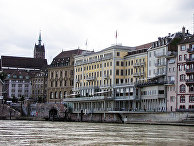Отель Les Trois Rois, Базель