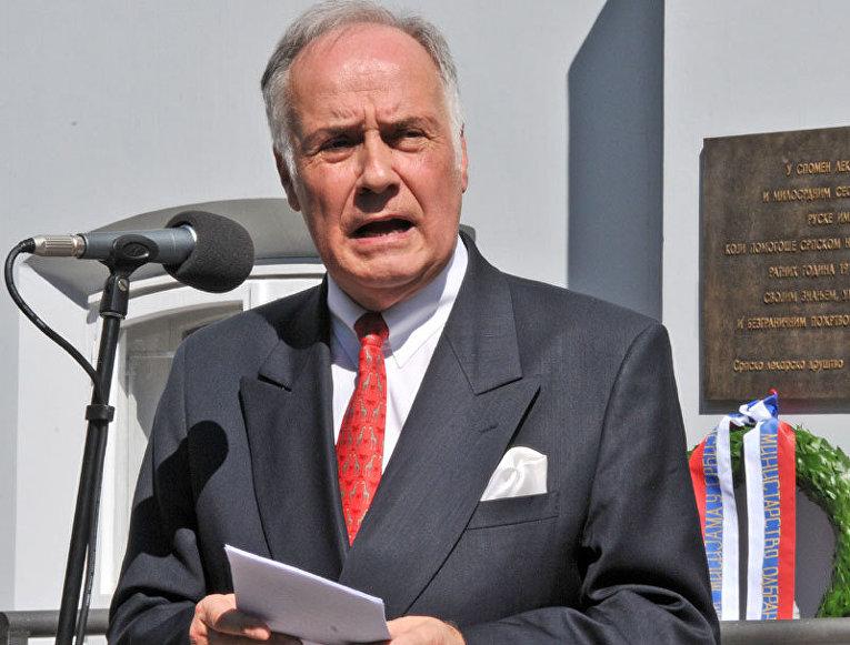 Посол России в Сербии Александр Конузин