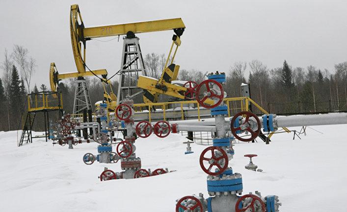 Нефтяное месторождение