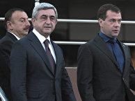Трехсторонняя встреча президентов России, Азербайджана и Армении