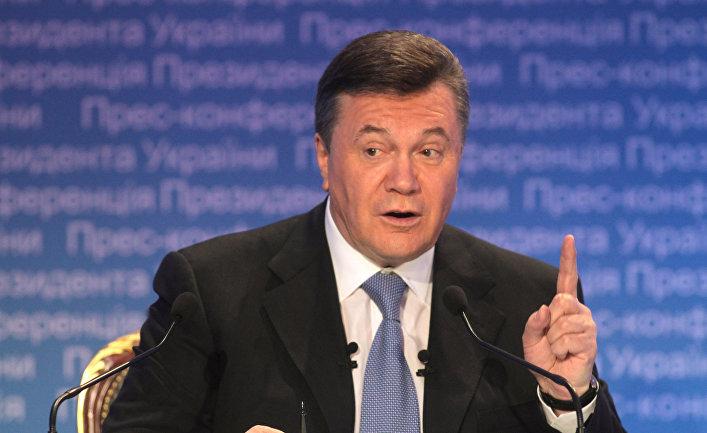 Итоговая пресс-конференция Виктора Януковича