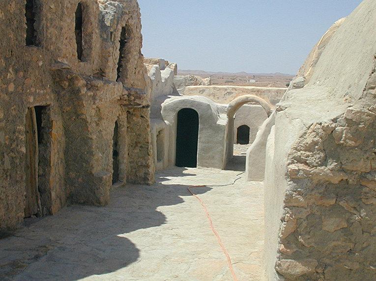 Город Татуин в Тунисе