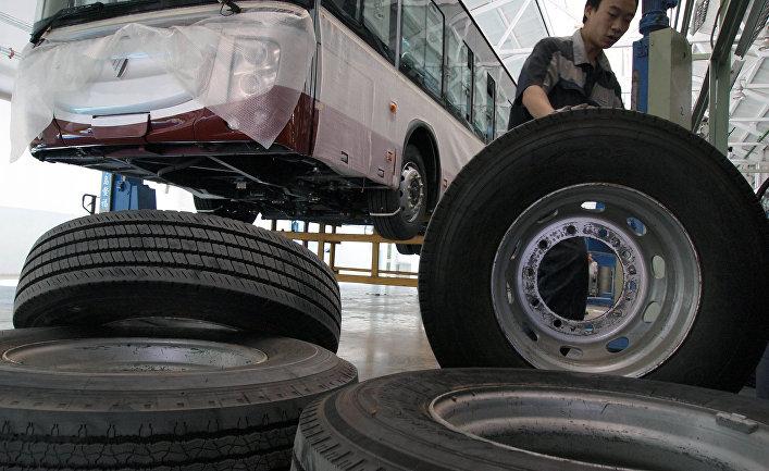 Завод Foton Motor Group в Пекине