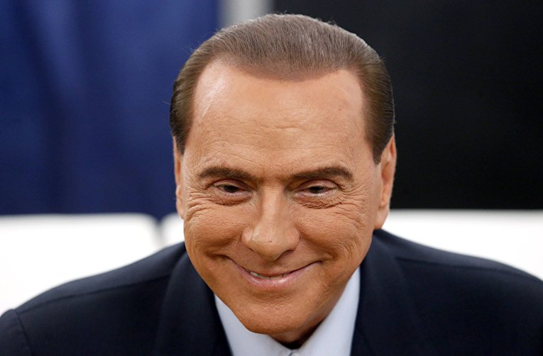 Сильвио Берлускони, итальянский политик