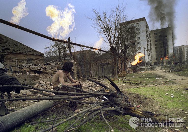 В Грозном разрушено много жилых домов