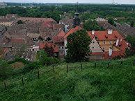 Вид на город Нови Сад в Сербии