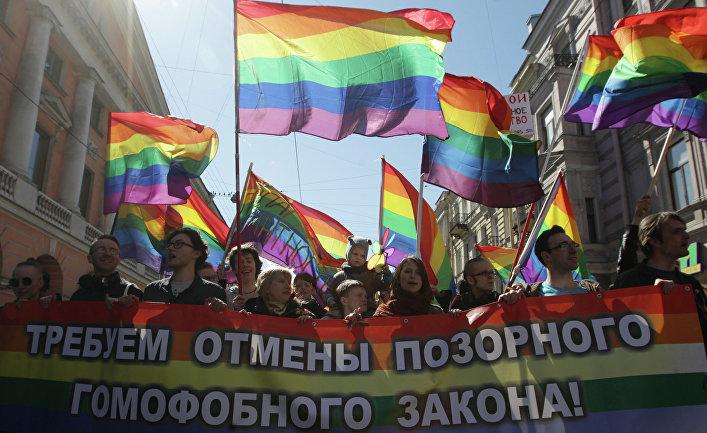 Активисты «Альянса гетеросексуалов за равноправие ЛГБТ». Архив