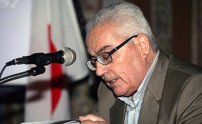 Сирийский ученый, хранитель памятников Пальмиры Халед Асаад