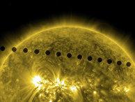 Редкое астрономическое явление: прохождение Венеры по диску Солнца