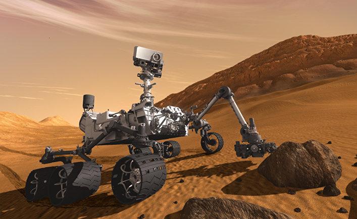Марсоход НАСА Curiosity