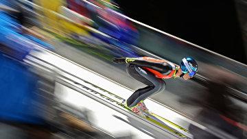 Олимпиада 2014. Прыжки с трамплина. Мужчины. Средний трамплин.
