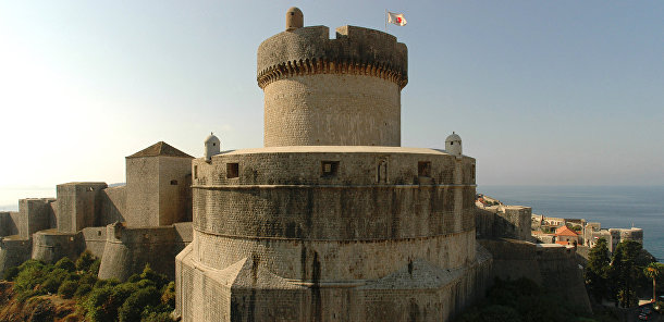 Башня Минцета в крепости Дубровник, Хорватия