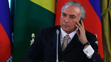 Вице-президент Федеративной Республики Бразилия Мишел Мигел Элиас Темер