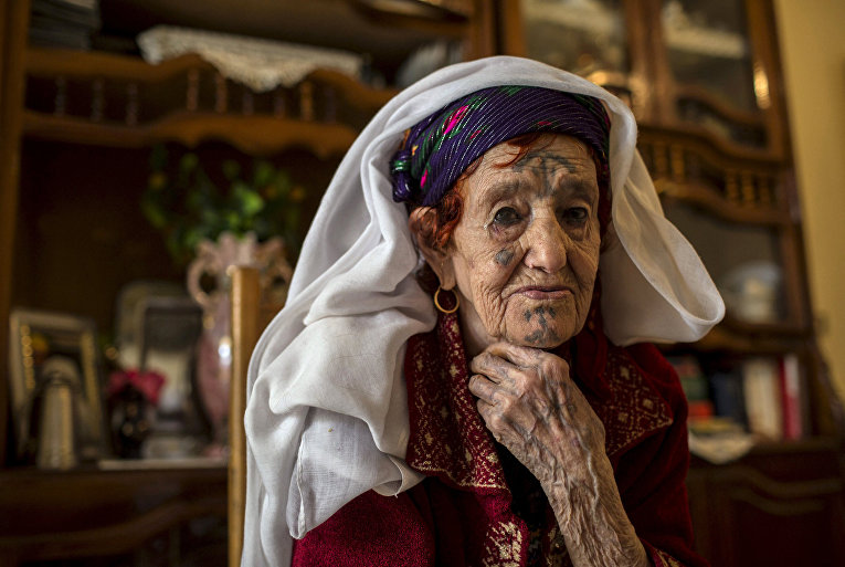 Фатма Бадредин, берберка из Алжира